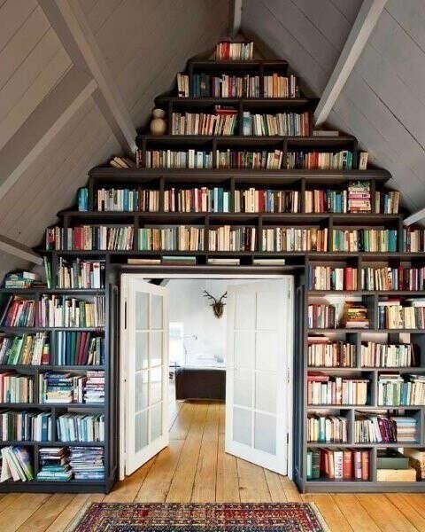 Хочу огромную библиотеку дома