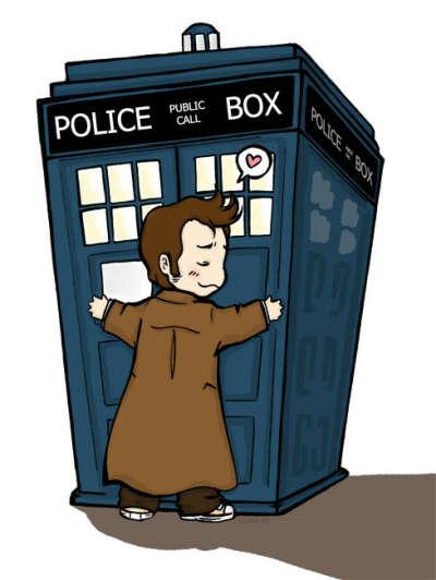 Hug TARDIS