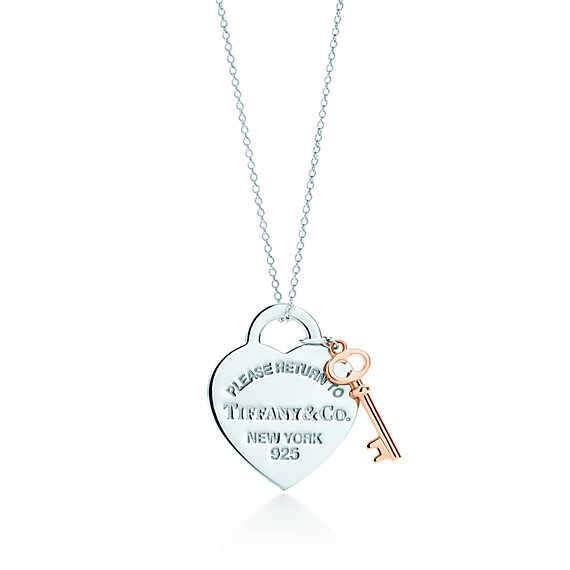 Tiffany & Co. -  Return to Tiffany®: подвеска в форме сердца с ключом