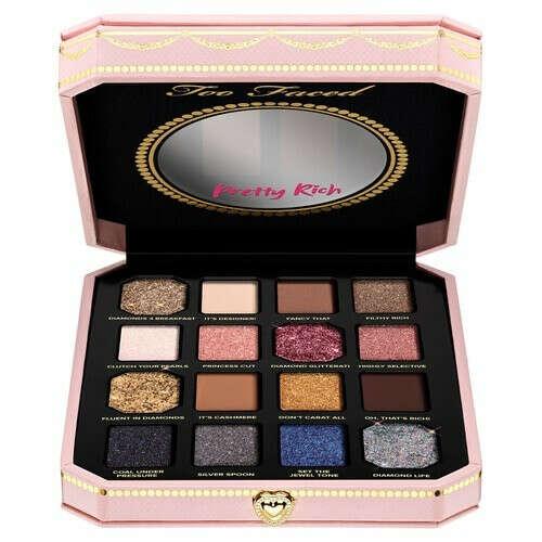 Too Faced DIAMOND LIGHT Pretty Rich Палетка теней купить по цене от 3562 руб в интернет магазине SEPHORA   41046