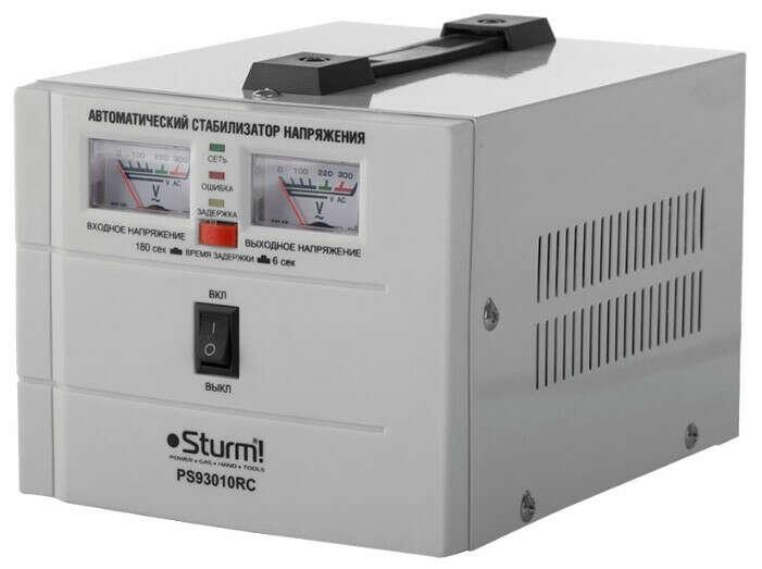 Купить стабилизатор напряжения Sturm! PS93010RC — выгодные цены на Яндекс.Маркете