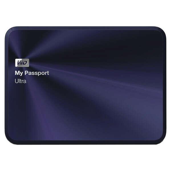 "Внешний жесткий диск 2.5"" WD 1TB My Passport Ultra Metal Edition WDBW5L0010BBA"