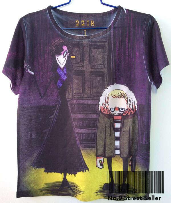Милая футболка с Шерлоком.