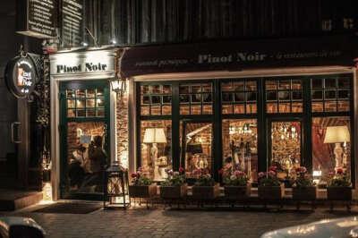 Ужин в ресторане Pinot Noir