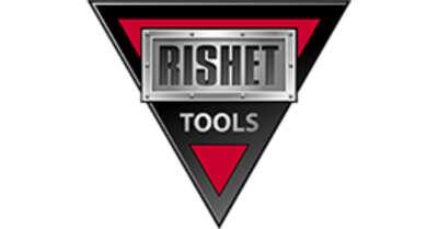 RISHET TOOLS CNGA 432-4N S0102510 CBN carbide insert Grade PNH3019, Tip Shape CBST30C1, TIN Coated, 4 tips for turning Hardened Steel - Heavy Interrupted cutting