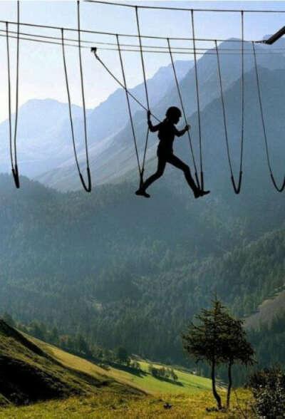 не бояться высоты