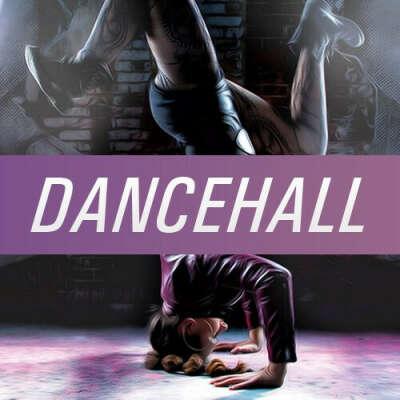 танцевать DANCEHALL