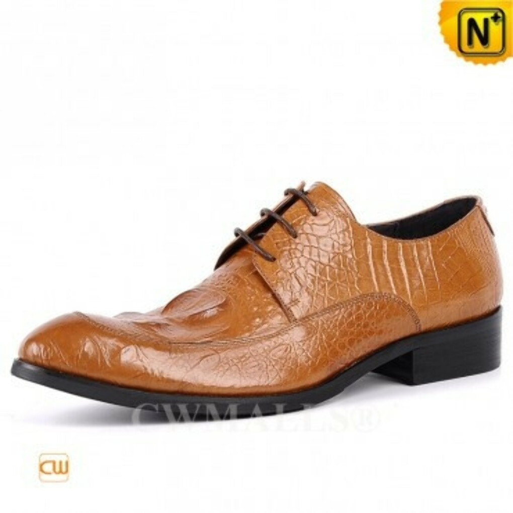 CWMALLS® Designer Leather Derby Shoes CW707053