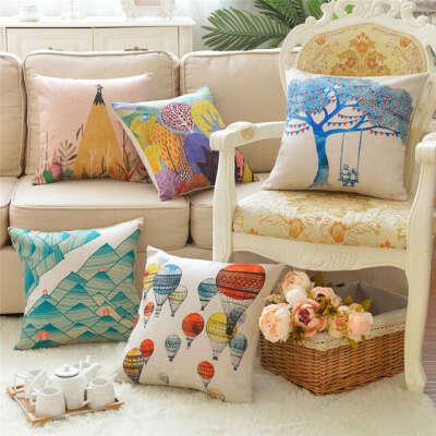 Диванные подушки/наволочки