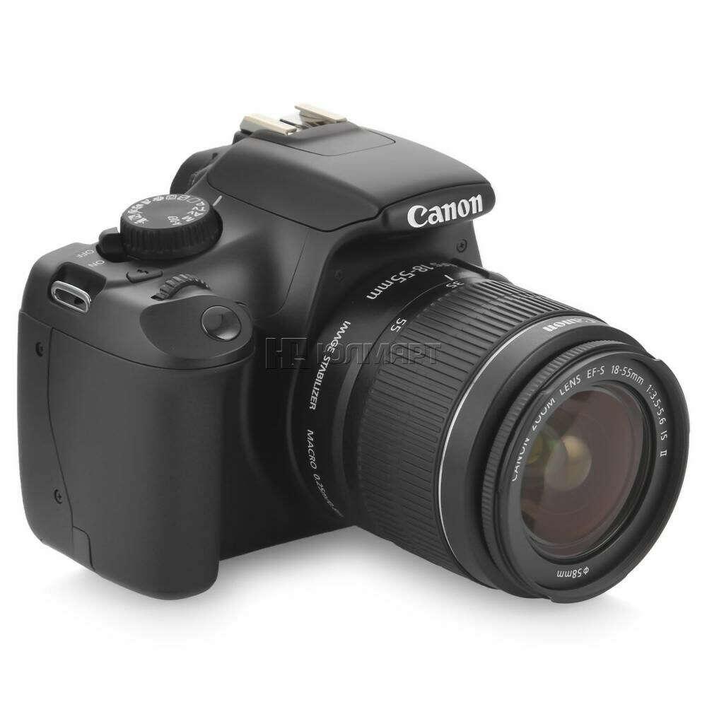 зеркальный фотоаппарат Canon EOS 1100D Kit EF-S 18-55mm IS II Black