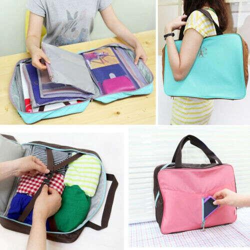 Travel Pouch Handbag Luggage Insert Multifunction Pocket Storage Bag in Bag BN04