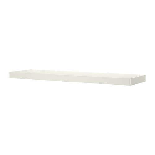 ЛАКК Полка навесная - белый  - IKEA