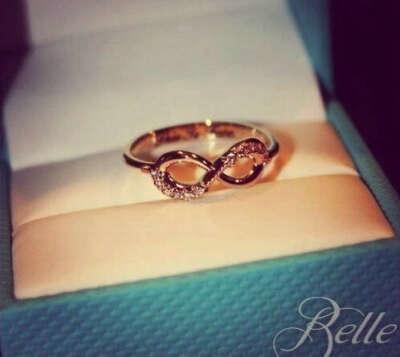 """золотое кольцо """"бесконечность"""""""