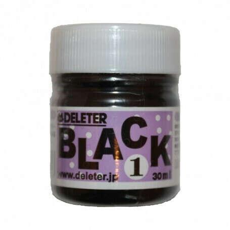 Черные чернила для манги и комиксов Deleter Black 1