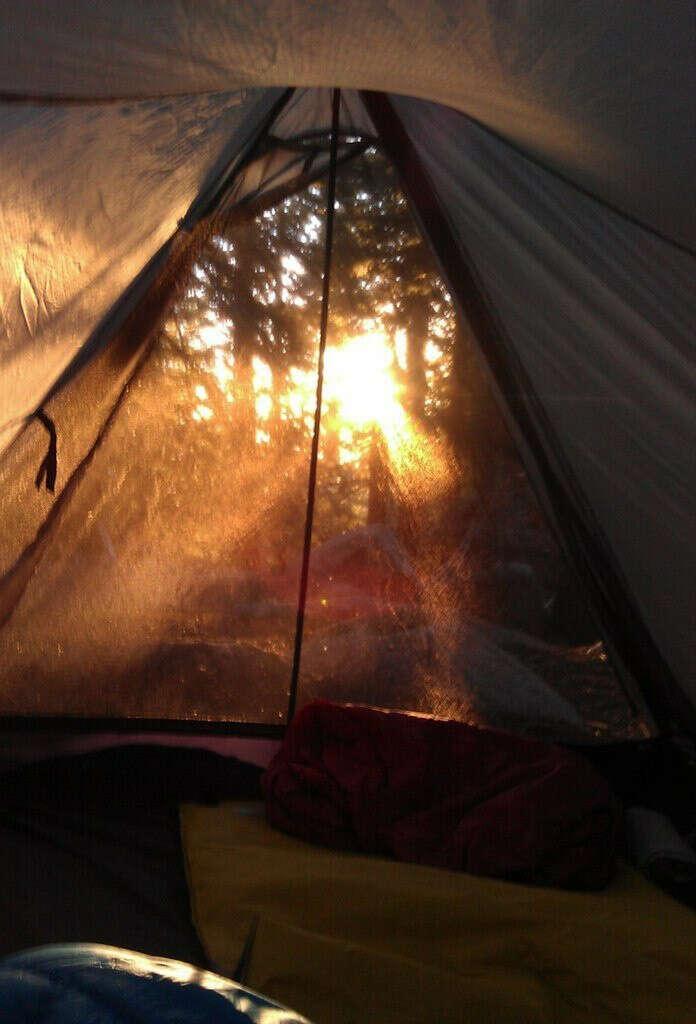 Встретить рассвет в палатке