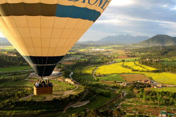Совершить полёт на воздушном шаре