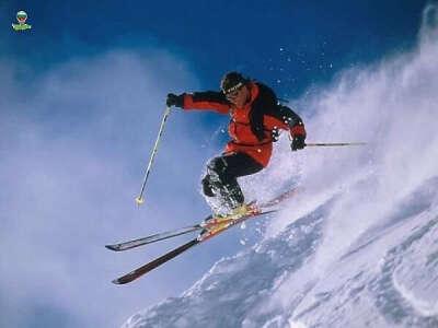 Научится кататься на лыжах