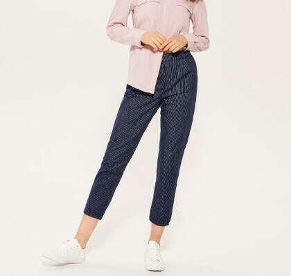 Матерчатые брюки-чинос