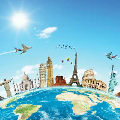 Совершить кругосветное путешествие