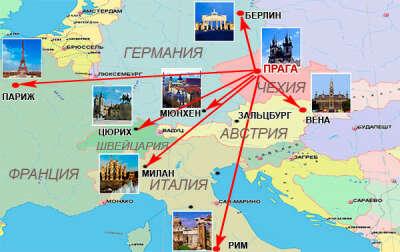 Хочу поехать в тур по Европе