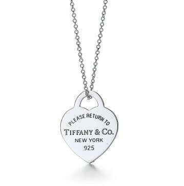 Tiffany&Co RETURN TO TIFFANY™ двойная круглая подвеска