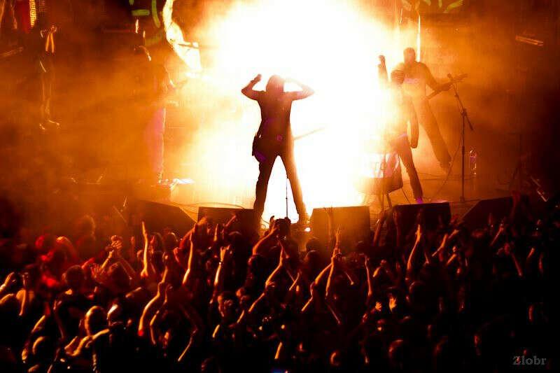 Сходить на рок концерт