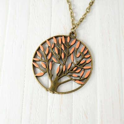Кулон «Персиковое дерево»