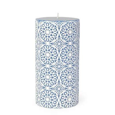 Свеча с цветочным рельефом Zara Home