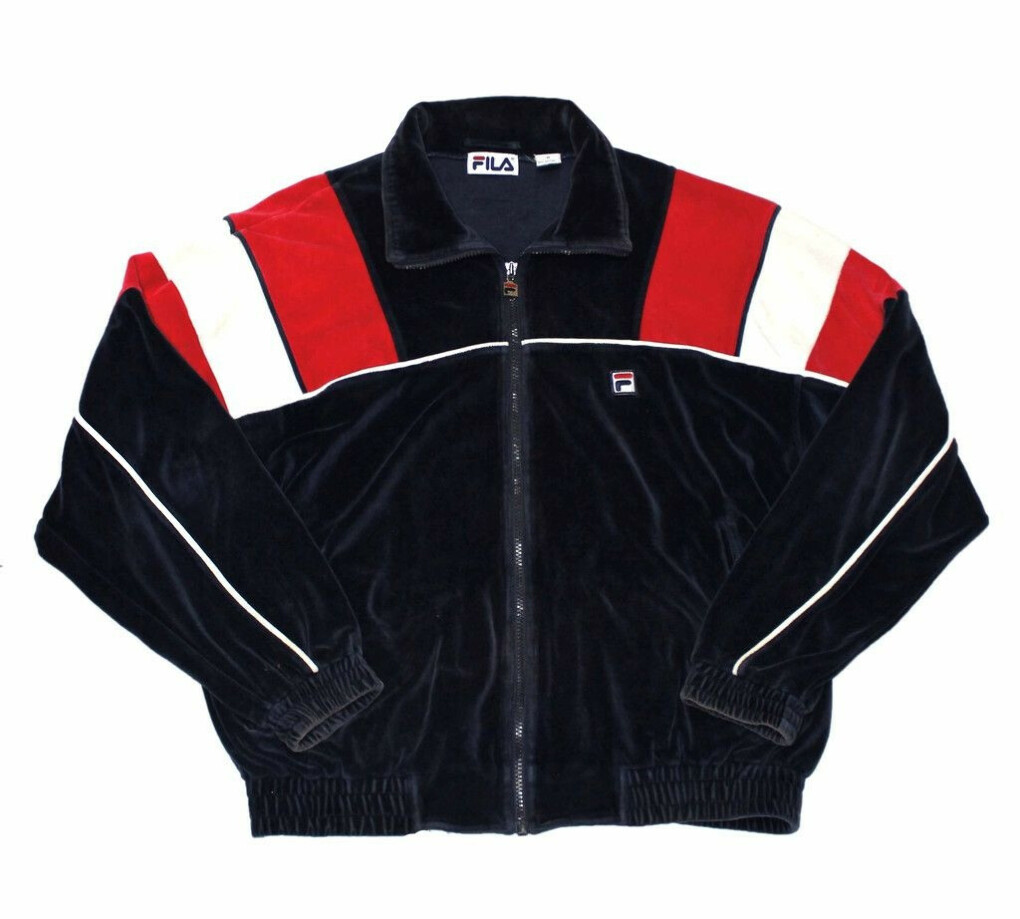 Fila velour jacket