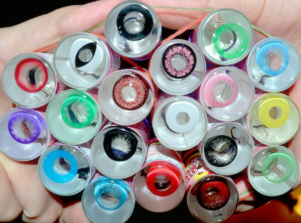 want lenses: red, black, yellows, pink, white, green and celestial