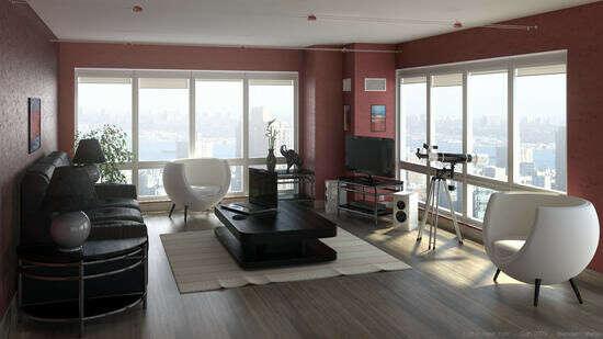 Own apartment