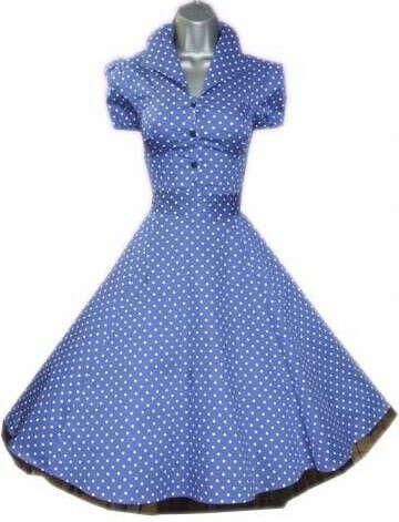 Платье в стиле пинап