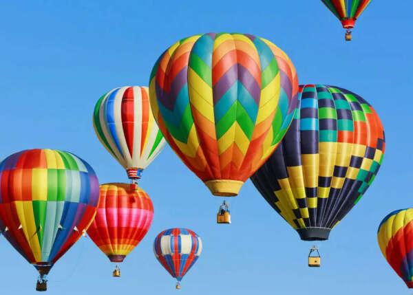 Полетать на большом воздушном шаре