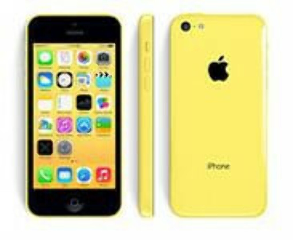 iPhone 5c yellow