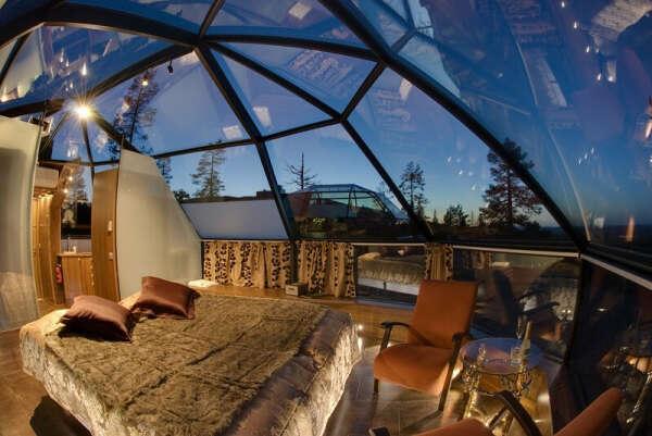 отдохнуть в купольном отеле