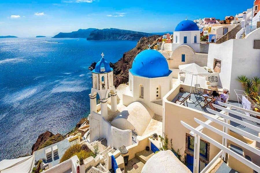 Поехать в Грецию