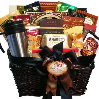 Gift Basket Coffee Gourmet