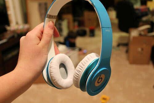 Наушники Beats by dr. Dre Solo HD Matte Light Blue