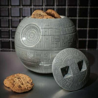 Death Star Cookie Jar at Firebox.com