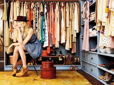 Много клёвой одежды и обуви