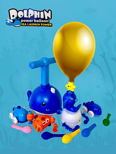 Машина на шаре Dolphin Power Balloon Car с пусковой башней, мячом, свистком и звездой. Bob-Toys 24825329 купить за 1072 ₽ в интернет-магазине Wildberries