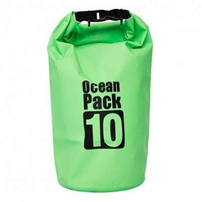 Водонепроницаемый рюкзак Ocean Pack 10 л, зеленый