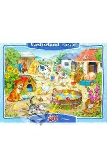 "Мозаика-пазл, Puzzle MIDI, 60 элементов, ""Ферма"" (В-06489)"
