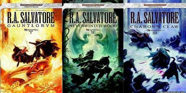 Книги по вселенной Forgotten Realms