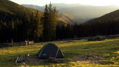 Отдохнуть с палатками