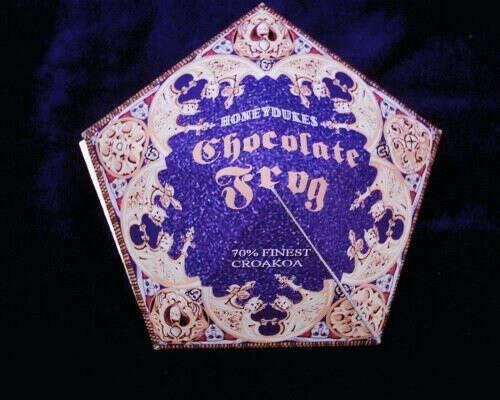 Шоколадная лягушка из Гарри Поттера