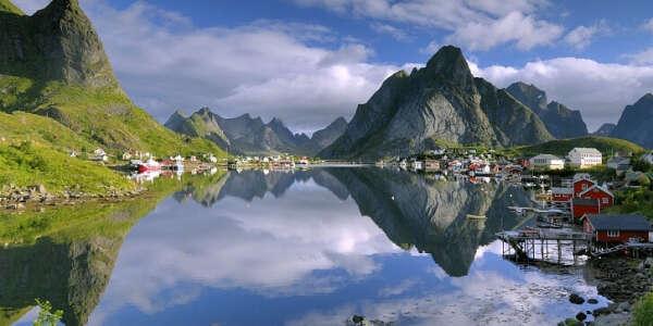 Поездка в Норвегию.