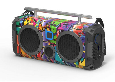 BUMPBOXX FLARE8 BLUETOOTH BOOMBOX- (NYC GRAFFITI)