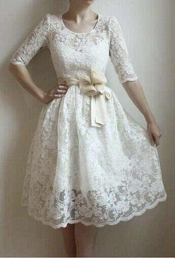 Белое платье ...
