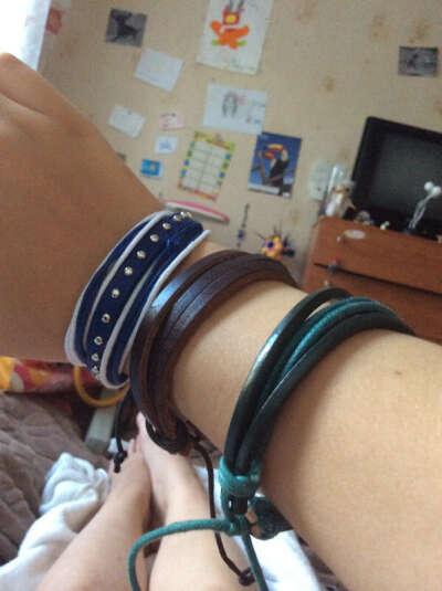 Модные браслеты!